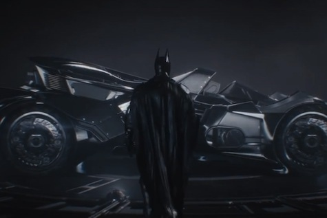 The newly designed Batmobile looks like a beast!