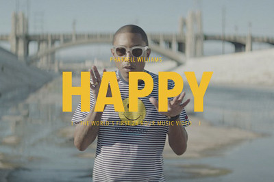 Happy featured the first 24-hour music video