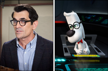 Ty Burrell voices Mr. Peabody