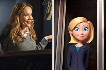 Leslie Mann voices Penny's mom Patty
