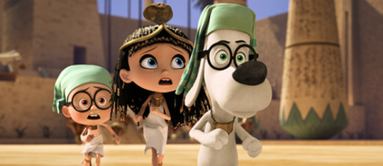 Feature mr peabody sherman feat