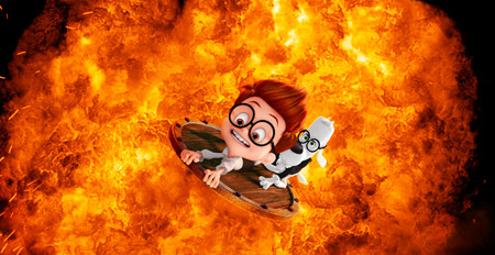 Sherman and Mr. Peabody make a fiery escape!