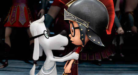 Mr. Peabody tells Sherman to forget being a Trojan War hero