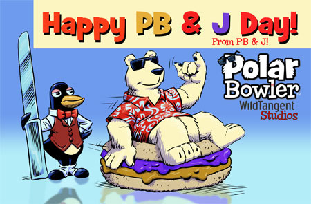 PB and J Day is April 2nd!
