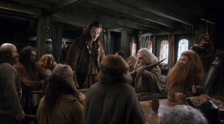 Bard works with the dwarves