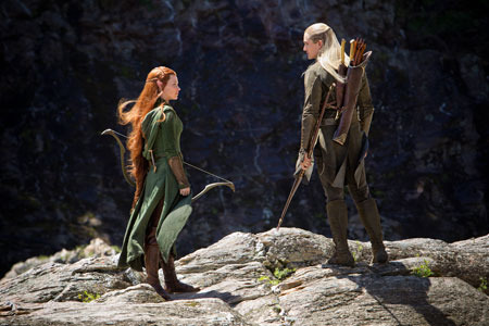 Tauriel with Legolas