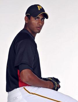 Rinku Singh in his baseball uniform