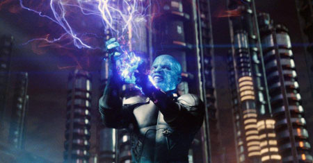 Electro is power mad!