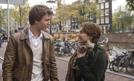 Hazel (Shailene) and Gus (Ansel) are two extraordinary teenagers