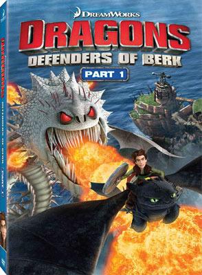 Dragons: Defenders of Berk Part 1 DVD