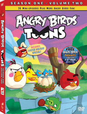 Angry Birds Toons: Season One: Volume Two DVD