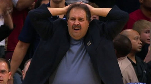 Stan Van Gundy just finding out about new coaches and collared shirts rule
