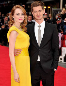 Emma and Andrew at the London Premiere