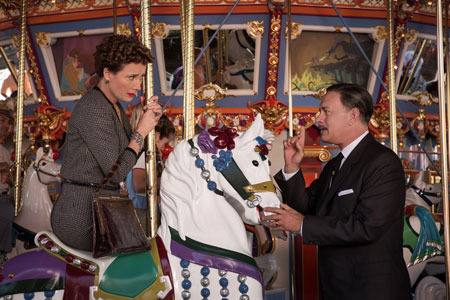 Walt Disney tries to convince Travers that a carousel ride should be fun