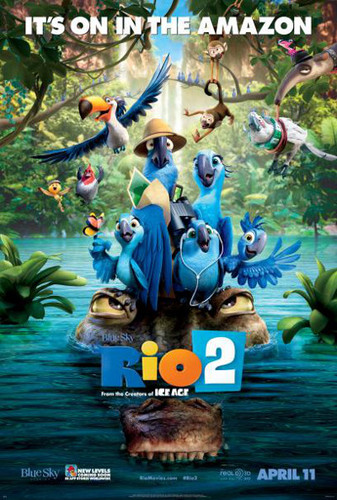 The whole crew is back in Rio 2!