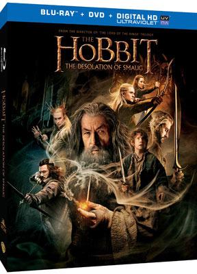 The Hobbit: The Desolation of Smaug Blu-ray   DVD