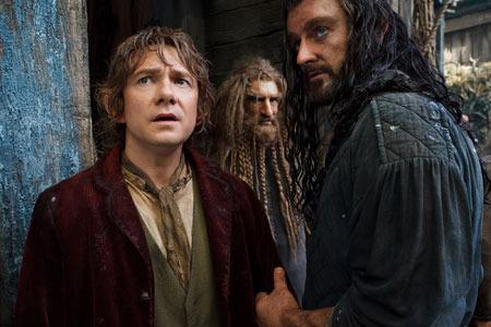Bilbo and Thorin make plans