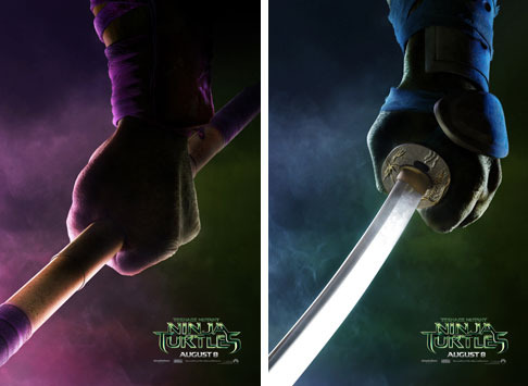 Donatello and Leonardo Teaser Posters