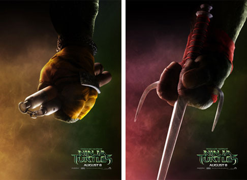 Michelangelo and Raphael Teaser Posters