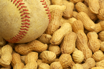 Best Baseball Stadium Foods - Peanuts