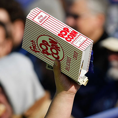 Best Baseball Stadium Foods - Popcorn