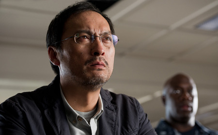 Ken Watanabe as scientist Ishiro Serizawa