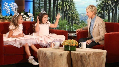 Sophia Grace and Rosie on The Ellen DeGeneres Show