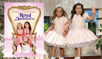 Sophia Grace and Rosie's Royal Adventure is now available!