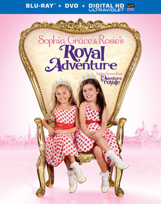 Sophia Grace and Rosies Royal Adventure Blu-ray