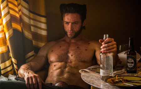 Hugh Jackman as Logan/Wolverine
