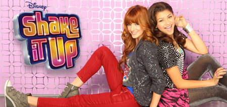 Bella Thorne with Zendaya in Shake It Up