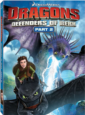 Dragons: Defenders of Berk Part 2 DVD