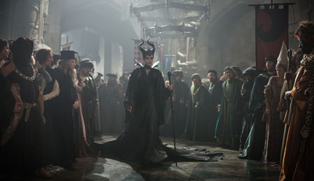Maleficent in court