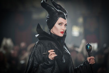 Angelia as Maleficent