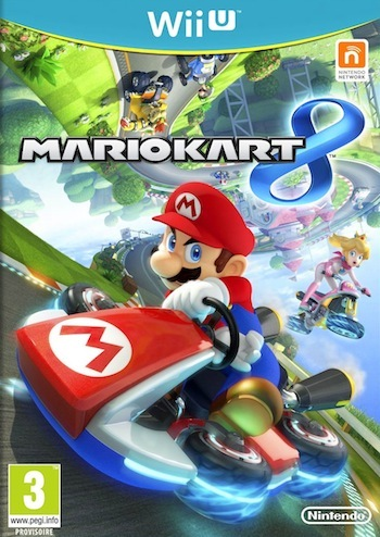 Mario Kart 8, available exclusively on Wii U, May 30th
