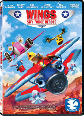 Wings: Sky Force Heroes DVD