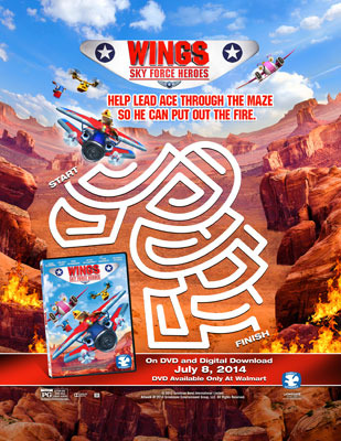 Wings: Sky Force Heroes Activity Sheet