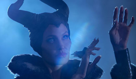 Maleficent casts a spell