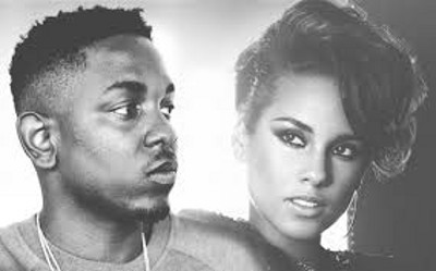 Kendrick Lamar and Alicia Keys collaborated on It's On Again