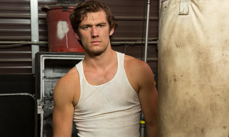 Alex Pettyfer plays David