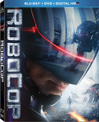 Robocop Blu-ray and DVD Cover