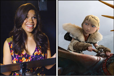 America Ferrera is the voice of Astrid