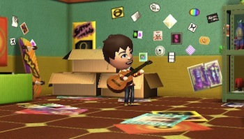 You'll catch your Mii's in the middle of all sorts of fun scenarios.