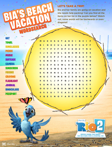Rio Word Search