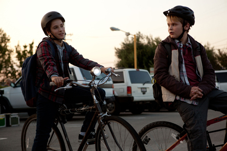 Alex and Munch (Reese) on the road