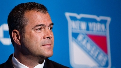 Vigneault is in his first year in New York