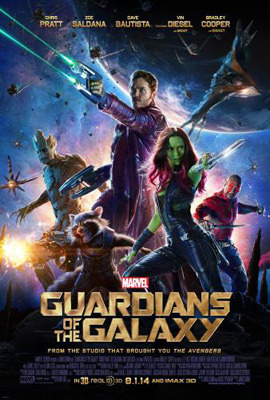 MARVEL'S GUARDIANS OF THE GALAXY POSTER
