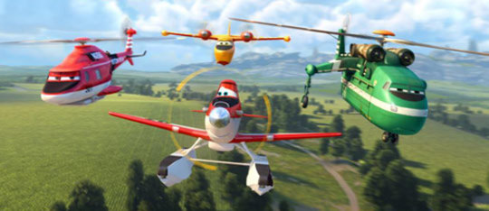 Planes: Fire and Rescue Movie Review