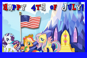 4th of July Recipes from My Little Pony: Keys of Friendship