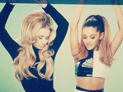 Iggy and Ariana get down sixties style in